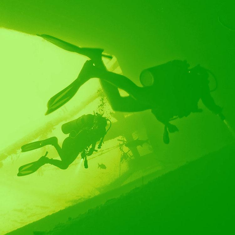 underwater verde